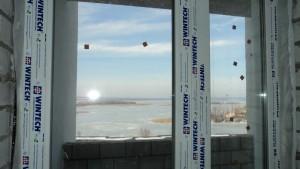 вид из окна на р. Волгу