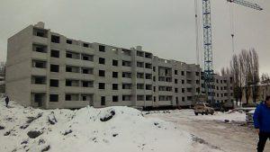 10.11.17 Начало строительства 6 этажа!