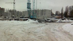 10.01.17 Закончена кладка цокольного этажа. Начало строительства первого этажа.